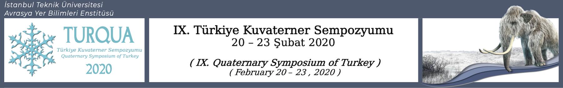 Türkiye Kuvaterner Sempozyumu (Quaternary Symposium of Turkey)