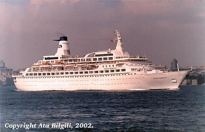 Northbound In Bosphorus Istanbul Summer 1988
