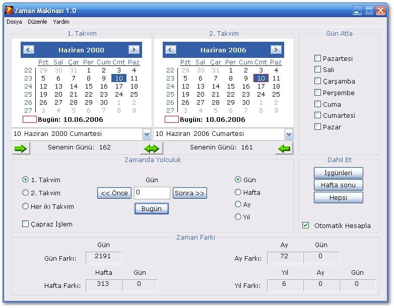 Zaman Makinası Ekran Görüntüleri - 1